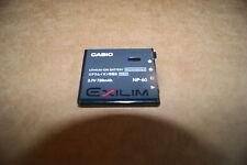 Casio Exilim NP-60 NP60 Battery Genuine OEM