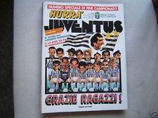 HURRA JUVENTUS=N°5 1990=COPPA ITALIA VINTA CONTRO IL MILAN=SCHILLACI=MAROCCHI