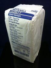 KENDALL Curity 200 4x4 Gauze Sponges 8 Ply Bulk Package REF 2556