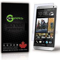 CitiGeeks® HTC One Screen Protector Crystal Clear HD Glossy Cover M7 [3-Pack]