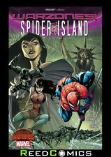 SPIDER-ISLAND WARZONES GRAPHIC NOVEL New Paperback Collects 5 Part Series
