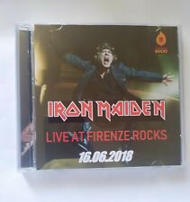 Iron Maiden CD Live Firenze Rocks 16.06.2018