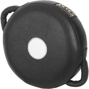 Cleto Reyes Heavy Punch Round Cushion Boxing Strike Pad - Small - Black
