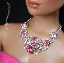 "Rhinestone Necklace and Earring Jewelry Set fits 16/"" Tonner dolls 010B"