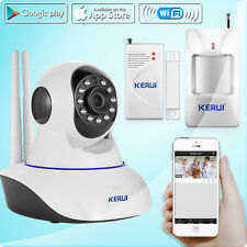 KERUI N62 WIFI IP Camera Wireless Home Security Alarm System,Motion PIR Sensor