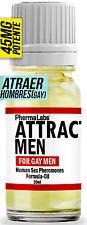 GAY FEROMONAS Atraer Hombres PODEROSAS SEXO FEROMONA Aceite puro 10 ML #0045