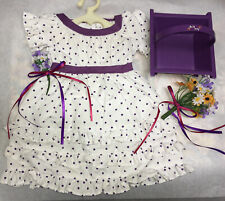 American Girl Kirsten's Midsummer Outfit w/Flowers & Basket