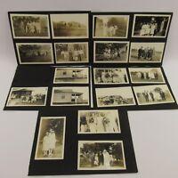 Estate Lot 29 Antique Photographs Black & White Photos Vintage Automobile Cars