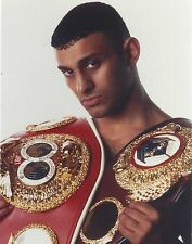 PRINCE NASEEM HAMED 8X10 PHOTO BOXING PICTURE WITH BELT