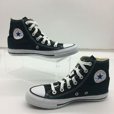 CONVERSE ALL STAR HI TOP BLACK WHITE CANVAS TRAINERS MENS LADIES MANY SIZES C