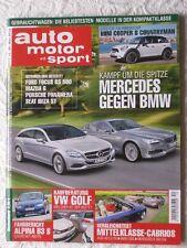AMS 12-10+AUDI A5 CABRIO+BMW 335+VW GOLF+DACIA DUSTER+MERCEDES E 350+ALPINA B3S