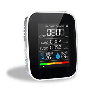 CO2 Meter Digital Temperature Humidity Sensor Tester Air Quality Monitor AUS