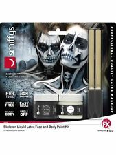 Skeleton Liquid Latex Kit, Halloween Fancy Dress,
