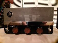 VINTAGE KNIGHT TUBE AMP PRO MODDED FOR GUITAR HARP MODEL KM15/Y784 EL84's CLEAN!