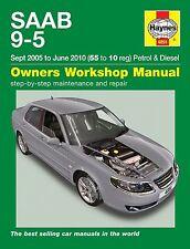 Reparaturhandbuch Saab 9-5 2005 - 2010 Brandneu!