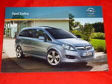 OPEL zafira B selection Design Edition innovation sport prospectus de 2010