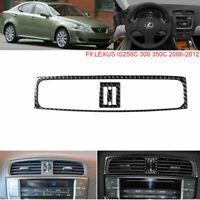 Car CD Middle air outlet Carbon Fiber Sticker For LEXUS IS250 300 350 2006-2012