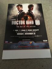 Dr Who Day Of The Doctor Movie Poster DrWHO50 Matt Smith David Tennant