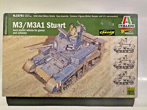 Italieri 15761 M3 / M3A1 Stuart 1:56 - 28mm OVP/MIB inkl. Vers in D