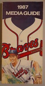 1987 Atlanta Braves Media Guide MLB Baseball