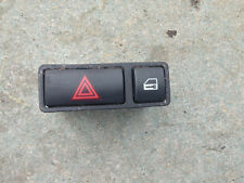 BMW 3 SERIES E46 X5 E53 Z4 E85 E86 HAZARD + LOCK SWITCH BUTTON 8368920