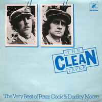 "Peter Cook & Dudley Moore ‎– The Clean Tapes Vinyl 12"" LP CUBE HIFLY 26 1978"