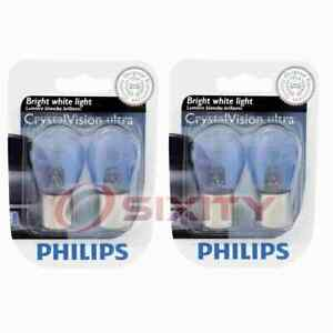 2 pc Philips Brake Light Bulbs for Peugeot 2008 207 207 Compact 208 208 GT xb