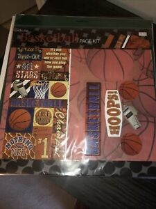 The Paper Studio Basketball Page Kit