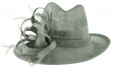 Elegance Collection Stetson Occasion Hat Silver