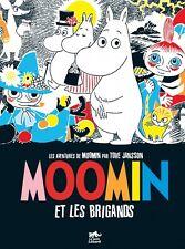 Livre Aventures de Moomin Et les Brigands Tove Jansson comic strip Petit Lezard
