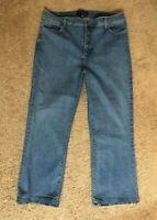 "NYDJ Not Your Daughters Jeans Med Wash Lift & Tuck Woman's Size 16W - 28"" inseam"
