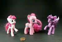 "3.5"" My Little Pony Action Figures Pinkie pie and 2 others"
