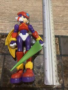 "2005 Purple Zero Version 2 Megaman 6"" Jazwares Capcom Action Figure Mega Man"