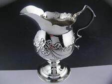 Early George III Silver Cream Jug LONDON c1807 w/ ribbon & bowl patterns