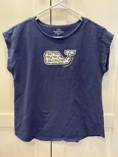 Vineyard Vines Girls Whale Shirt XL 16