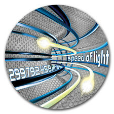 2016 Niue 2 oz Silver Code Of The Future (Speed of Light) - SKU #149355