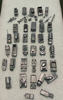 Vintage 1960's MPC  Lot of Mini WWII USA Military Vehicles Tanks