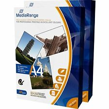200 MediaRange A4 Sided Gloss Inkjet A4 220 gsm Quick dry Photo Paper MRINK103