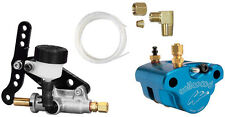 "NEW WILWOOD KARTING BRAKE CALIPER,PADS,MASTER CYLINDER,& LINE KIT FOR .50"" ROTOR"