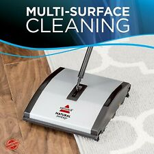 Bissell Carpet And Floor Natural Sweep Sweeper With Dual Rotating System Corner