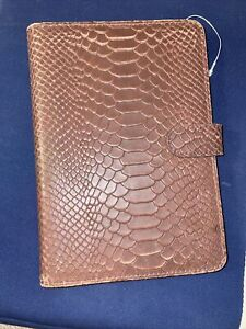 Dooney & Bourke iPad mini Tablet Case / holder/ protector Brown Leather NWOT
