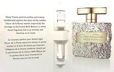OSCAR DE LA RENTA BELLA BLANCA EDP Spray VIAL FOR WOMEN 0.06 Oz / 2 ml SAMPLE