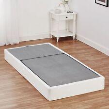 Half-Fold Metal Box Spring Full Size Mattress Bed Foundation Platform