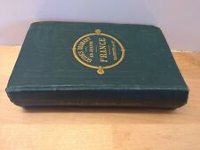 Guide Joanne Guide Diamant France Hachette vers 1880 avec 6 plans