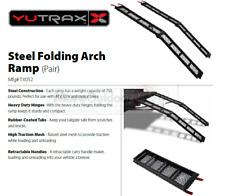 TX052 YUTRAX Steel 79-Inch Folding Cycle Arch Ramps Pair 1500 lb Capacity REFURB