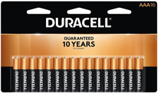 Duracell Coppertop AAA Alkaline Batteries, Pack of 16