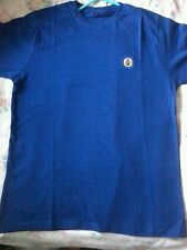 Mens azul fomenta Camiseta L. Nuevo