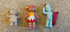 CBeebies In The Night Garden 3 figure set Iggle Piggle Upsie Daisy Makka Pakka