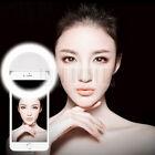 Luxury Selfie Luminous LED Light Up Phone Ring For iPhone 6S 7 Plus Samsung LG
