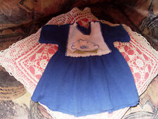 robe clayeux T 1 poupée poupon ancien convert snf bella gégé TBE